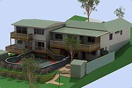 Architectural 3D CAD, Polystyrene & Balsa Models